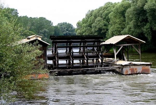 Babič-Mühle an der Mur