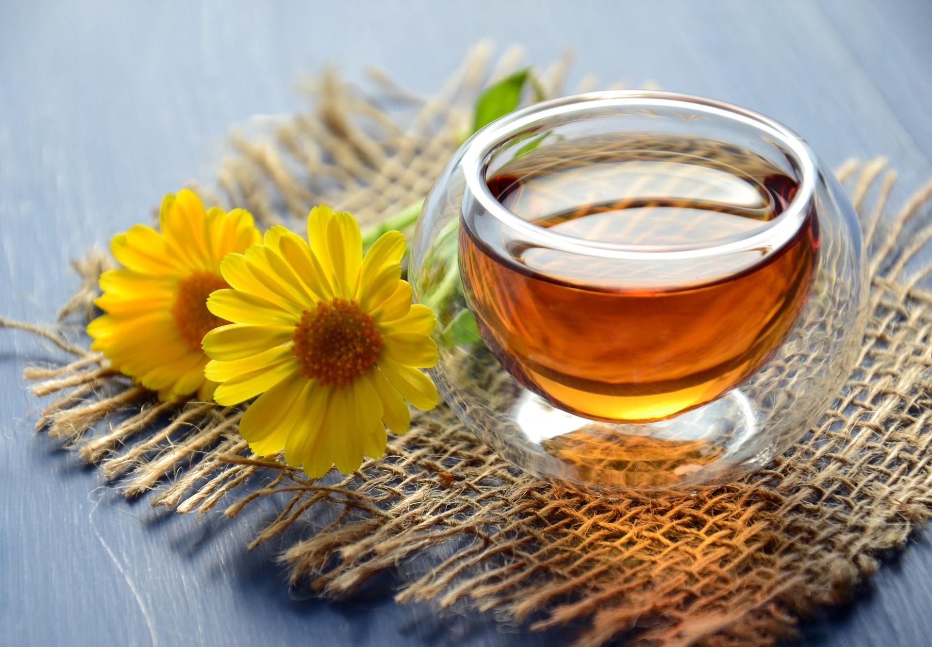 Verwöhnung mit dem Honig