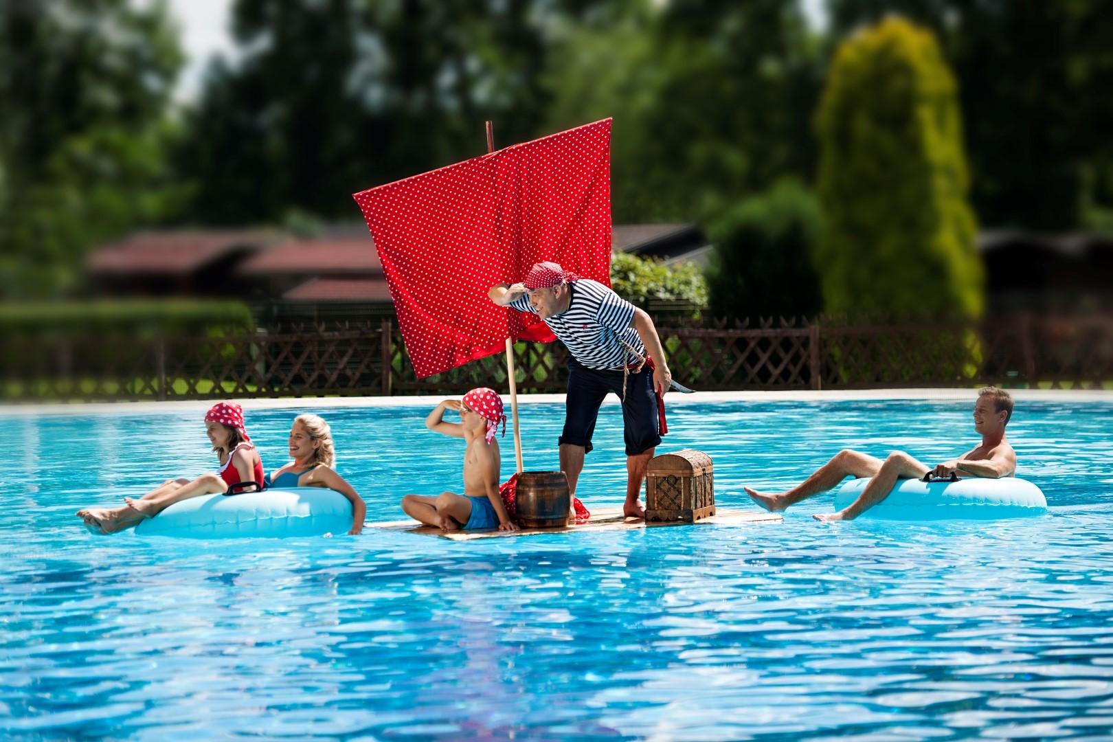 Poletne počitnice v Termah Banovci